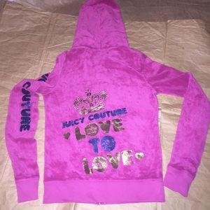 Juicy Couture hoodie jacket